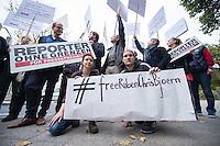 2014/10/13 Berlin | Kundgebung für verhaftete Journalisten in der Türkei