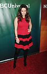 PASADENA, CA - JANUARY 15: Actress Emily Hampshire attends the NBCUniversal 2015 Press Tour at the Langham Huntington Hotel on January 15, 2015 in Pasadena, California.