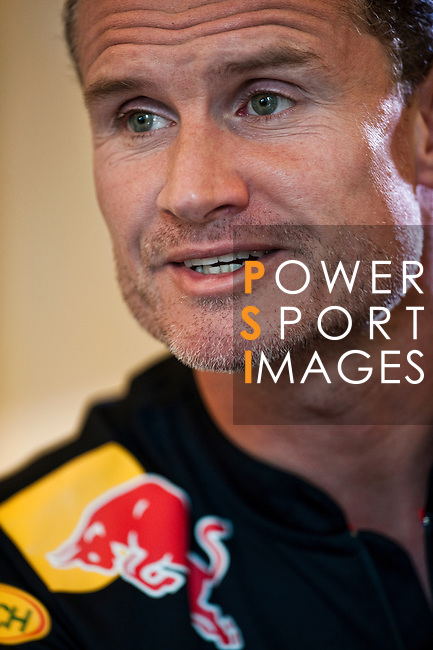 David Coulthard during an interview prior the Red Bull Speed Street at The Ritz Carlton hotel in Kuala Lumpur, Malaysia,  on April 2nd 2011.  Photo by Victor Fraile / The Power of Sport Images for Red Bull