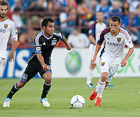 San Jose Earthquakes vs Real Salt Lake, July 14, 2012