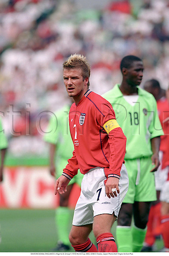 DAVID BECKHAM, ENGLAND 0 v Nigeria 0, Group F, FIFA World Cup 2002, 020612 Osaka, Japan Photo:Neil Tingle/Action Plus...Soccer.Football..