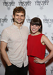 Andrew Durand and Alexandra Socha attends the Vineyard Theatre Gala 2018 honoring Michael Mayer at the Edison Ballroom on May 14, 2018 in New York City.