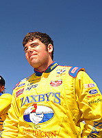 Apr 17, 2009; Avondale, AZ, USA; NASCAR Nationwide Series driver John Wes Townley during qualifying prior to the Bashas Supermarkets 200 at Phoenix International Raceway. Mandatory Credit: Mark J. Rebilas-
