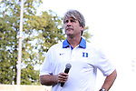21 August 2015: Duke head coach John Kerr. The Duke University Blue Devils hosted the University of North Carolina Charlotte 49ers at Koskinen Stadium in Durham, NC in a 2015 NCAA Division I Men's Soccer preseason exhibition. The game ended in a 1-1 tie.
