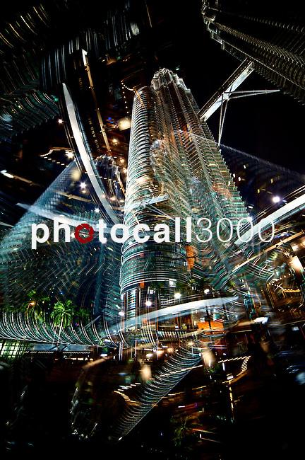KUALA LUMPUR.MALAYSIA.NEWS.<br /> Visión de las Torres Prtronas , a 15/10/2013.<br /> En la imagen :<br /> Torres Petronas