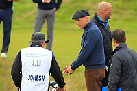 Vinnie Jones (AM) on the 5th tee during Round 2 of the Alfred Dunhill Links Championship 2019 at Kingbarns Golf CLub, Fife, Scotland. 27/09/2019.<br /> Picture Thos Caffrey / Golffile.ie<br /> <br /> All photo usage must carry mandatory copyright credit (© Golffile | Thos Caffrey)