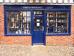 A51P16 The Shrine shop Little Walsingham Norfolk England