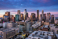 Wilshire Grand Center in the Financial District of Downtown Los Angeles California