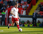Harrison McGahey of Sheffield Utd during the Sky Bet League One match at Bramall Lane Stadium. Photo credit should read: Simon Bellis/Sportimage