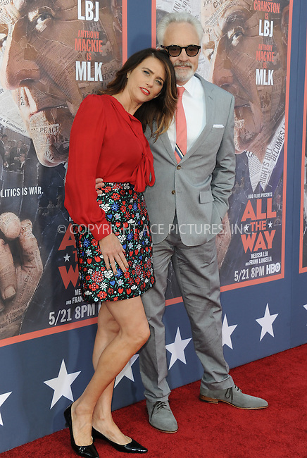 WWW.ACEPIXS.COM<br /> <br /> May 10 2016, LA<br /> <br /> Amy Landecker and Bradley Whitford arriving at the premiere of HBO's 'All The Way' at Paramount Studios on May 10, 2016 in Hollywood, California.<br /> <br /> By Line: Peter West/ACE Pictures<br /> <br /> <br /> ACE Pictures, Inc.<br /> tel: 646 769 0430<br /> Email: info@acepixs.com<br /> www.acepixs.com