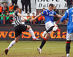 Lee McCulloch blasts in goal no 2 for Rangers