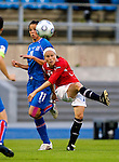 Lene Storlokken, Women's EURO 2009 in Finland.Iceland-Norway, 08272009, Lahti