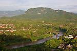 View Of Luang Prabang From Mount Phousi