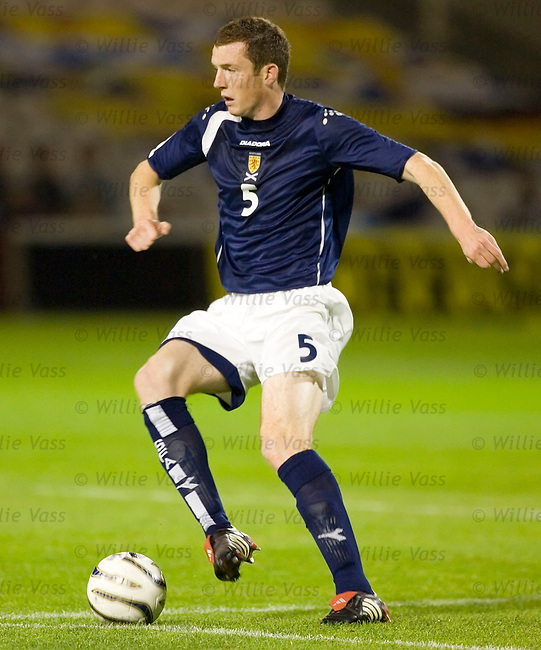 Neil Collins, Scotland u21.stock season 2005-2006.pic willie vass