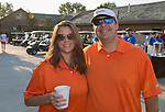 Erin Villalobos and Jack Kelleiter at the Microsoft 8th Annual Charity Golf Tournament held at Red Hawk Golf and Resort in Sparks on Friday, August 19, 2016.