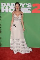 WESTWOOD, CA - NOVEMBER 5: Alessandra Ambrosio at the premiere of Daddy's Home 2 at the Regency Village Theater in Westwood, California on November 5, 2017. Credit: David Edwards/MediaPunch