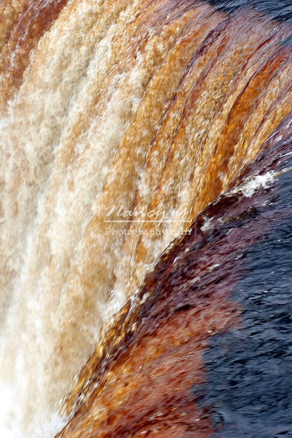 The Upper Tahquamenon Falls in Upper Michigan.