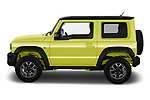 Car Driver side profile view of a 2019 Suzuki Jimny GLX 5 Door SUV Side View