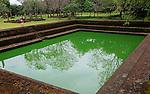 UNESCO World Heritage Site, the ancient city of Polonnaruwa, Sri Lanka, Asia, bathing pool building in the Alahana Pirivena complex