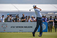 Matt Kuchar (USA) watches his tee shot on 2 during round 2 of the AT&amp;T Byron Nelson, Trinity Forest Golf Club, at Dallas, Texas, USA. 5/18/2018.<br /> Picture: Golffile | Ken Murray<br /> <br /> <br /> All photo usage must carry mandatory copyright credit (&copy; Golffile | Ken Murray)