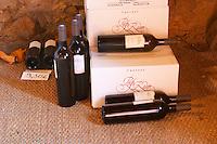 Cuvee Les Genets Vin de Pays d'Oc. Chateau Pech-Redon. La Clape. Languedoc. France. Europe. Bottle.