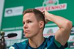 07.11.2018, Mixed Zone - Weserstadion, Bremen, GER, 1.FBL, Werder Bremen, Niklas Moisander (Werder Bremen #18) Mixed Zone, <br /> <br /> im Bild<br /> Niklas Moisander (Werder Bremen #18), <br /> <br /> Foto &copy; nordphoto / Ewert