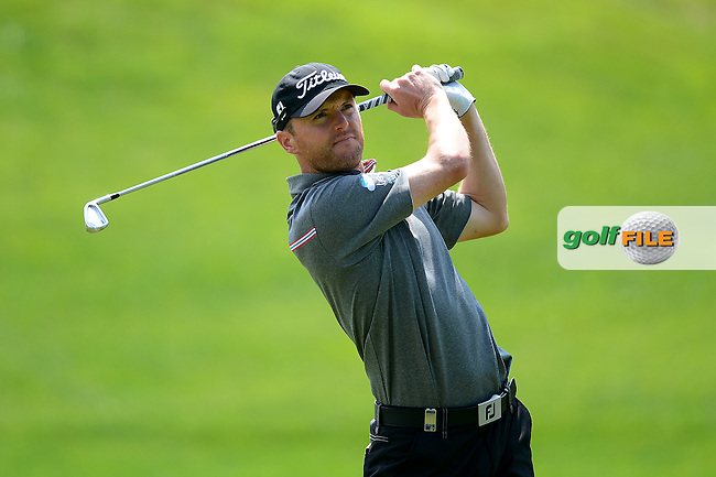Michael Hoey of Northern Ireland during Round 2 of the Lyoness Open, Diamond Country Club, Atzenbrugg, Austria. 10/06/2016<br /> Picture: Richard Martin-Roberts / Golffile<br /> <br /> All photos usage must carry mandatory copyright credit (&copy; Golffile | Richard Martin- Roberts)
