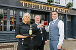 L-R Cllr. Ken Murnane, Shauna Nolan & Pub manager Damien McConomy at The Tullow Gate, Carlow opening 1st May 2019
