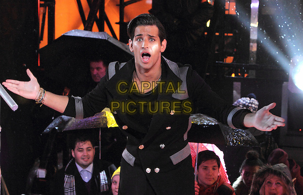 BOREHAMWOOD, ENGLAND - JANUARY 29: Ollie Locke at the Celebrity Big Brother Final at Elstree Studios on January 29, 2014 in Borehamwood, England<br /> CAP/ROS<br /> &copy;Steve Ross/Capital Pictures