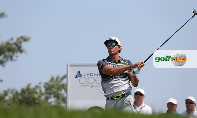 Rafa Cabrera-Bello (ESP) emerging as the main contender during Round Three of the 2015 Lyoness Open powered by Greenfinity at the Diamond Country Club, Atzenbrugg, Vienna, Austria. 13/06/2015. Picture: Golffile | David Lloyd<br /> <br /> All photos usage must carry mandatory copyright credit (&copy; Golffile | David Lloyd)