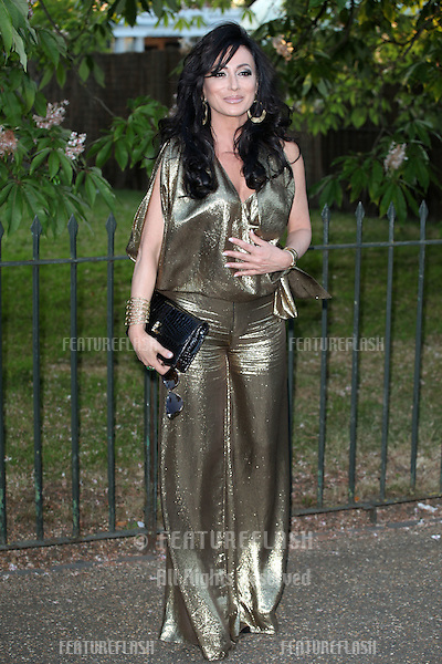 Nancy Del'Olio arriving for the Serpentine Summer Party, at the Serpentine Gallery, Hyde Park, London. 01/07/2014 Picture by: Alexandra Glen / Featureflash