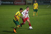 Jamie Gray of Stevenage in action during Stevenage vs Norwich City, Friendly Match Football at the Lamex Stadium on 11th July 2017