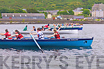 10 crews took to the water for the U14 ladies four oar race at Cahersiveen Regatta on Sunday.