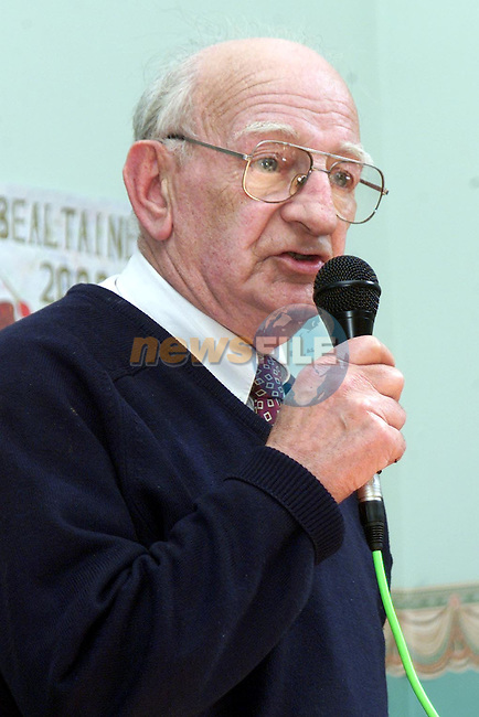 Tommy Reid from Moran's Terrace singing at the Bealtaine Festival in the Community Services Centre..Picture Paul Mohan Newsfile