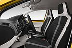 Front seat view of 2017 Volkswagen E-Up - 5 Door Hatchback Front Seat  car photos