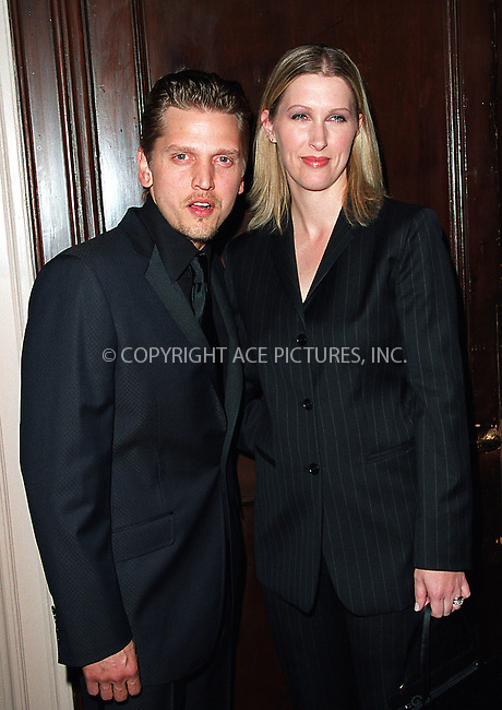 Barry Pepper and his wife arrive at Waldorf-Astoria for the 3rd Annual Directors Guild of America Awards. New York, June 9, 2002. Please byline: Alecsey Boldeskul/NY Photo Press.   ..*PAY-PER-USE*      ....NY Photo Press:  ..phone (646) 267-6913;   ..e-mail: info@nyphotopress.com