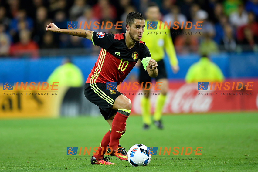 Hazard Eden midfielder of Belgium <br /> Lyon 13-06-2016 Stade de Lyon Footballl Euro2016 Belgium - Italy / Belgio - Italia Group Stage Group D. Foto photonews / Panoramic  / Insidefoto