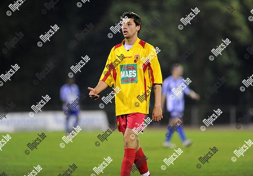 2011-09-01 / Voetbal / seizoen 2011-2012 / KV Turnhout - Bornem SV / Nick de Groote..Foto: Mpics