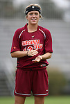 25 October 2009: Virginia Tech's Kelly Conheeney. The Duke University Blue Devils defeated the Virginia Tech Hokies 4-1 at Koskinen Stadium in Durham, North Carolina in an NCAA Division I Women's college soccer game.