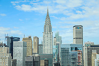 NOVA YORK, EUA, 24.04.2018 - TURISMO-EUA - Vista do Chrysler Building na ilha da Manhattan na cidade de Nova York nos Estados Unidos nesta terça-feira, 24. (Foto: William Volcov/Brazil Photo Press)