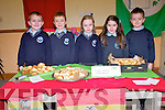 Tasting pastries from Bolivia in South America at the Kilcummin National School food fair last Friday. .L-R Liam Kerrisk, Sean Doolin, Rachel Fleming, Julianna Friel and Dylan O'Riordan O'Brien.