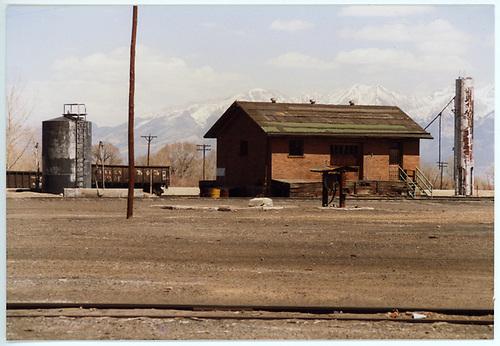 D&amp;RGW Alamosa oil house.<br /> D&amp;RGW  Alamosa, CO  Taken by Dorman, Richard L. - ca. 1970-1979