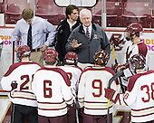Steve Greeley (BC - Head Coach) - The Boston College Eagles defeated the visiting Boston University Terriers 6-2 in ACHA play on Sunday, December 4, 2011, at Kelley Rink in Conte Forum in Chestnut Hill, Massachusetts.