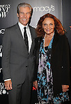 Macy's CEO Terry Lundgren and Designer Diane von Furstenberg attend MACY&rsquo;S PRESENTS FASHION&rsquo;S FRONT ROW<br />
