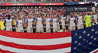 Harrison, N.J. - Friday September 01, 2017: U.S. Men's National team starting eleven during a 2017 FIFA World Cup Qualifying (WCQ) round match between the men's national teams of the United States (USA) and Costa Rica (CRC) at Red Bull Arena.