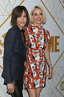 LOS ANGELES - SEP 21:  Kate Moennig, Leisha Hailey at the Showtime Emmy Eve Party at the San Vicente Bungalows on September 21, 2019 in West Hollywood, CA