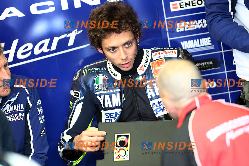 .17-05-2013 Le Mans (FRA).Motogp world championship.in the picture: Valentino Rossi - Yamaha factory team .Foto Semedia/Insidefoto.ITALY ONLY