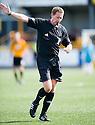 Referee Frank McDermott.