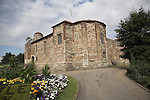 Colchester castle, Essex, England. Colchester Castle is one of the most important historic buildings in the country. Colchester was the first capital of Roman Britain and beneath the Castle are the remains of the most famous Roman buildings, the Temple of Claudius.