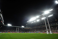 A general view of the St James' Park pitch at half-time. Rugby World Cup Pool C match between New Zealand and Tonga on October 9, 2015 at St James' Park in Newcastle, England. Photo by: Patrick Khachfe / Onside Images